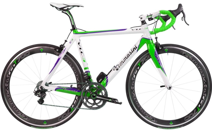 2015 Tommasini VLC3 lime purple campy eps