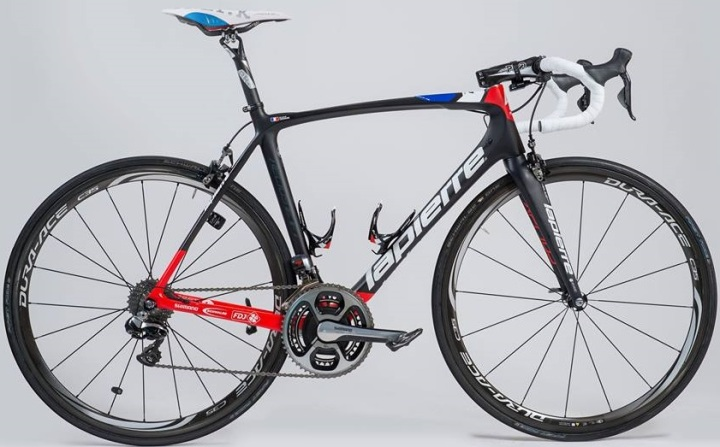 Xelius EFI FDJ 2015 Lapierre red blue black dura ace