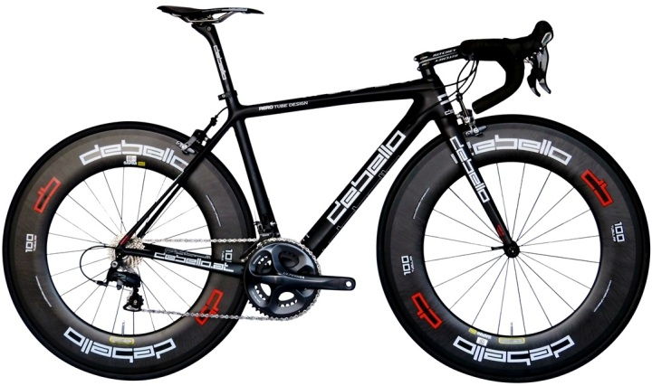 2014 Debello Shade black red ultegra