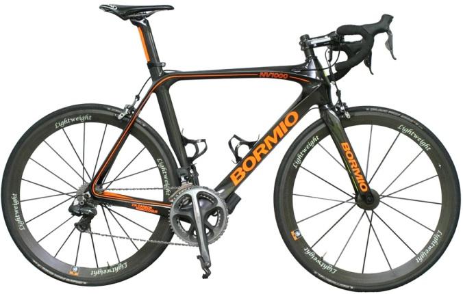 2015 Bormio NV1000 black orange dura ace di2