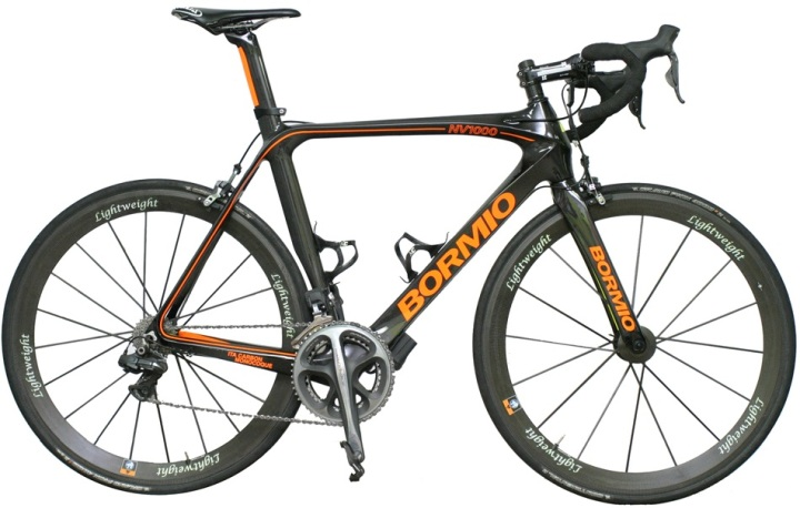 2015 Bormio NV1000 black orange dura ace di2