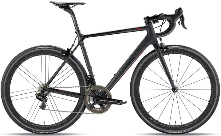 2015 Canyon CF SLX Superlight black campy super record