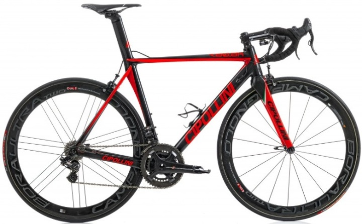 2015 Cipollini RB800 red campy super record
