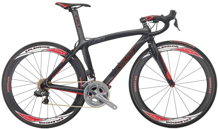 2015 CKT 589 grey red ultegra