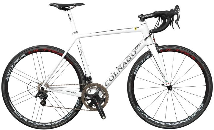 2015 Colnago V1-r white campy super record
