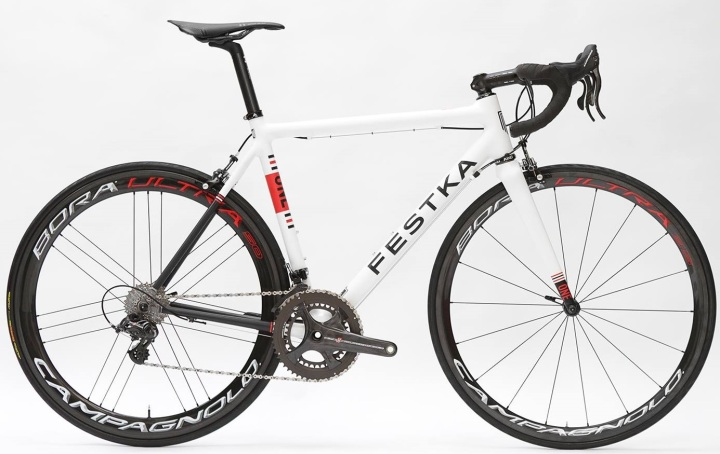 2015 Festka One white campy super record
