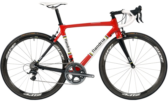 2015 Flandria Competition red black classic dura ace
