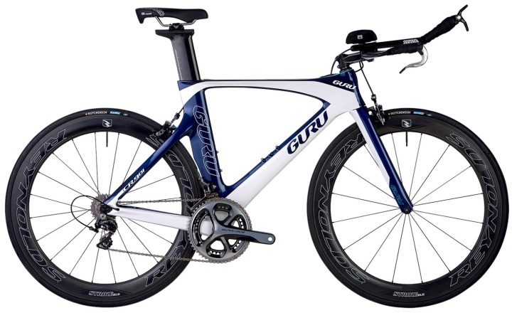 2015 Guru CR 901 tt blue white dura ace
