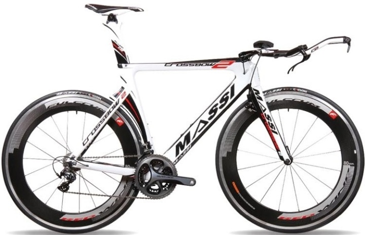 2015 Massi Cross Bow 2 tt red white black dura ace