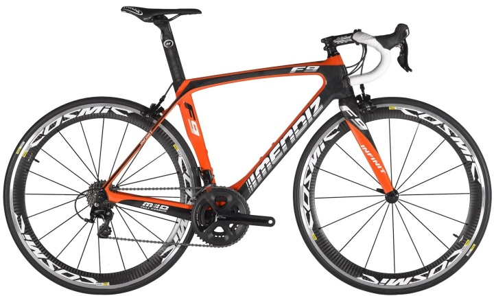 2015 Mendiz F9 orange ultegra