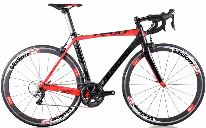 2015 Parkpre R999 red black ultegra