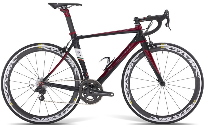 2015 Scapin Ivor black red campy