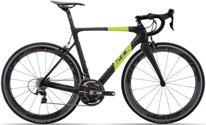 2015 Silverback Superbike Concept R2.1 lime black dura ace