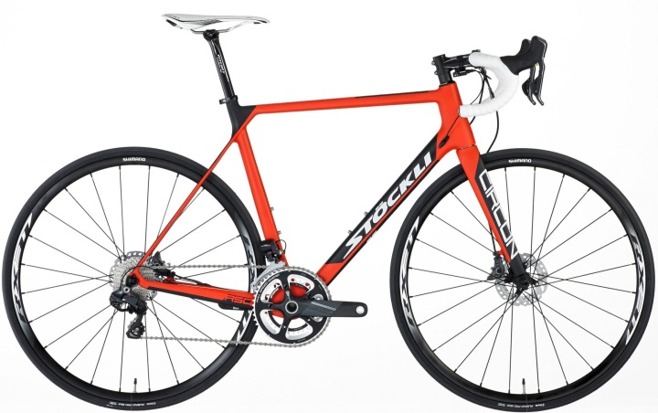 2015 Stockli Circon RSC orange disc ultegra