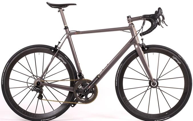 2015 velocipedo road movie grey campy 5.5kg