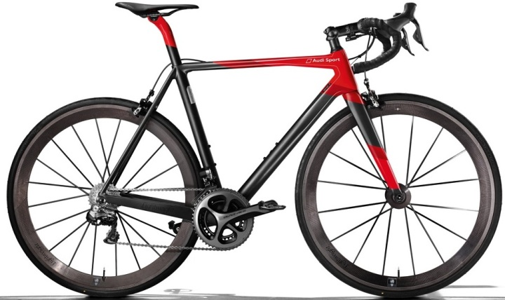 audi bike 2015 red black dura ace