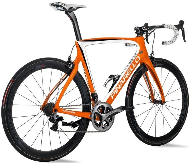 Pinarello Dogma- F8 - orange dura ace 2015 insta