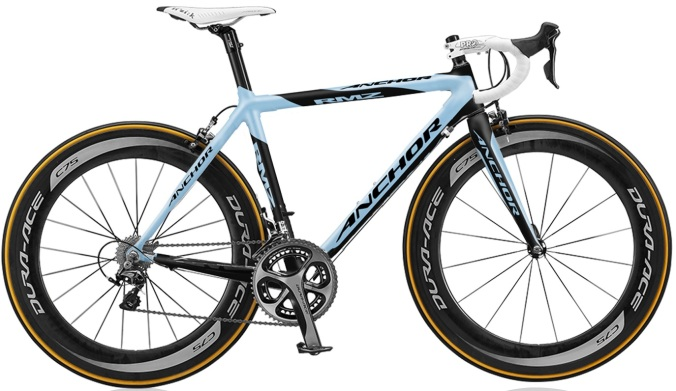 2015 Anchor RMZ light blue dura ace