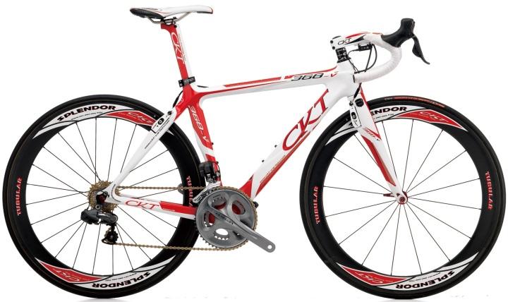 2015 CKT 368V red white ultegra