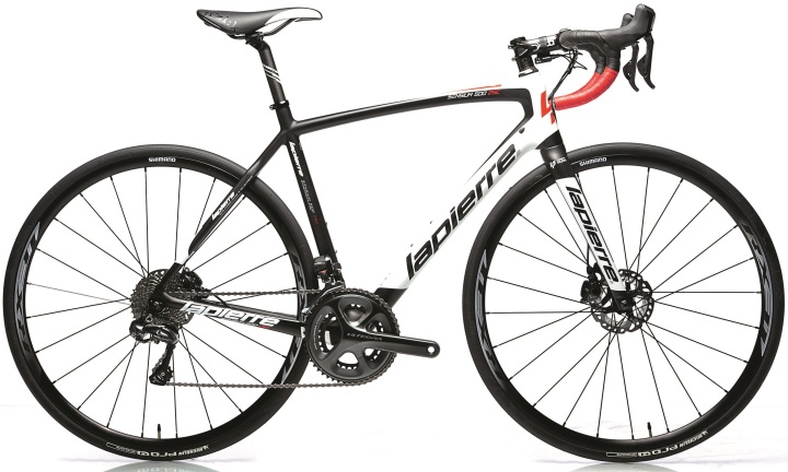 2015 Lapierre Senssium 500 disc ultegra red white black