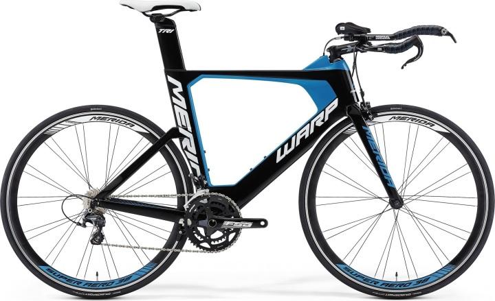 2015 Merida Warp Tri 3000 blue black tt ultegra