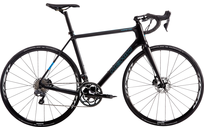 2015 Nishiki Competition black light blue disc 105