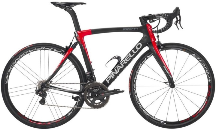 2015 Pinarello Dogma KS-8 red black campy