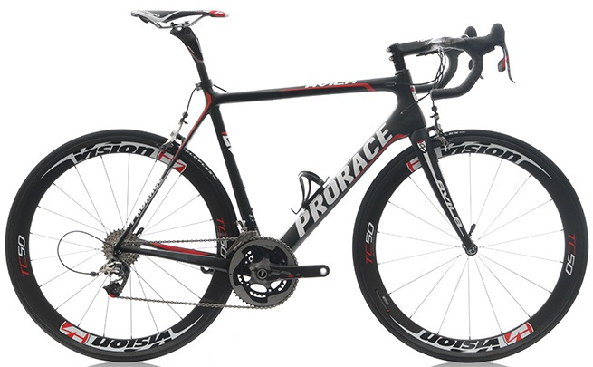 2015 Prorace Avila black sram red