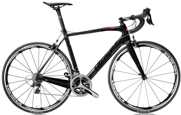 2015 Wilier Cento 1 SR black red dura ace