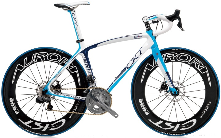 2015 CKT 398 light blue ultegra disc