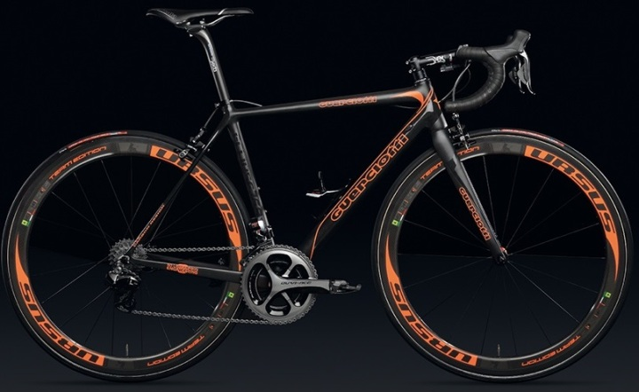 2015 Guerciotti Eclipse 769 orange dura ace