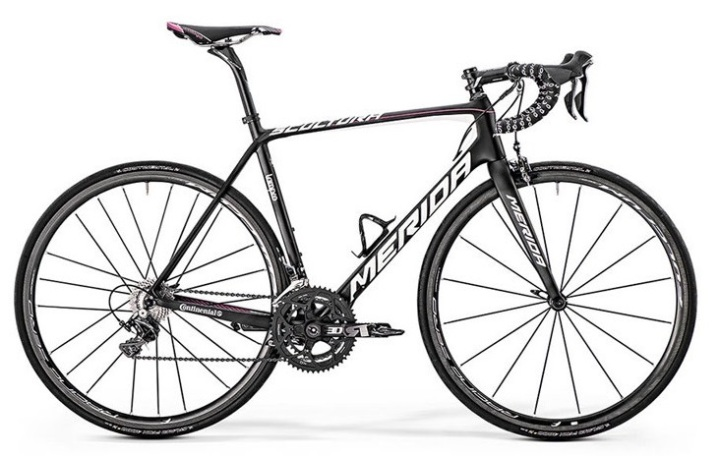 2015 Merida Scultura 9000 ltd black red