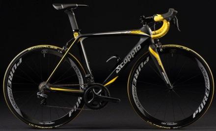 2015 Scoppio 201.1 yellow black ultegra
