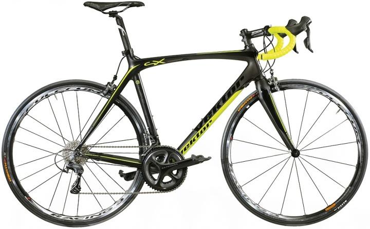 2015 Vektor SX Endurance ultegra yellow