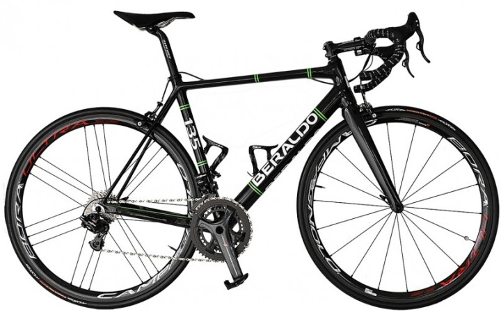 2016 Beraldo 135 campy super record black green