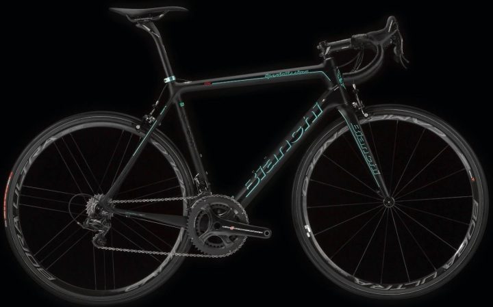 2016 Bianchi Speciallisima black campy super record