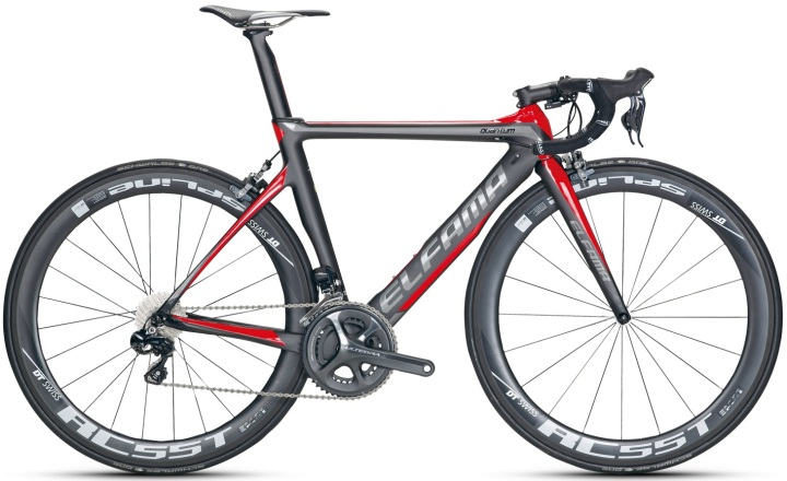 2015 Elfama QUANTUM A6870 red grey ultegra
