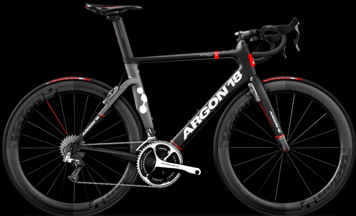 2016 Argon 18 Nitrogen Pro red black dura ace