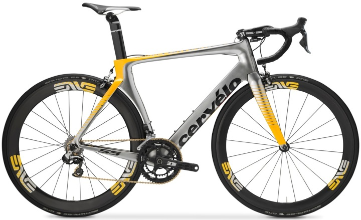 2016 Cervelo S5 TEAM MTN-Qhubeka Edition yellow silver