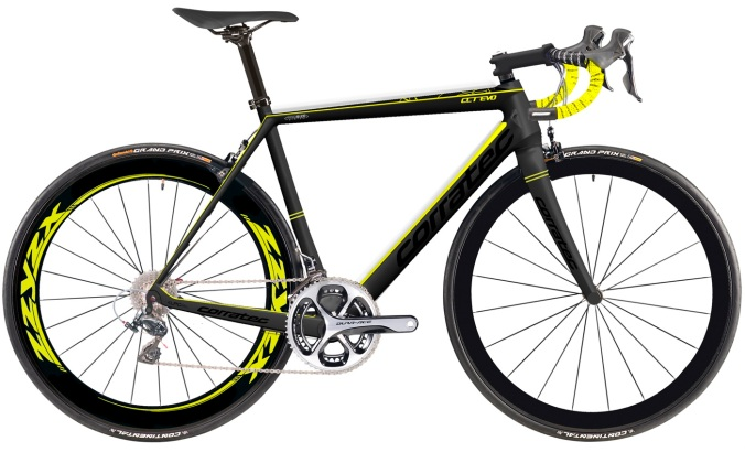 2016 Corratec CCT Evo yellow black dura ace