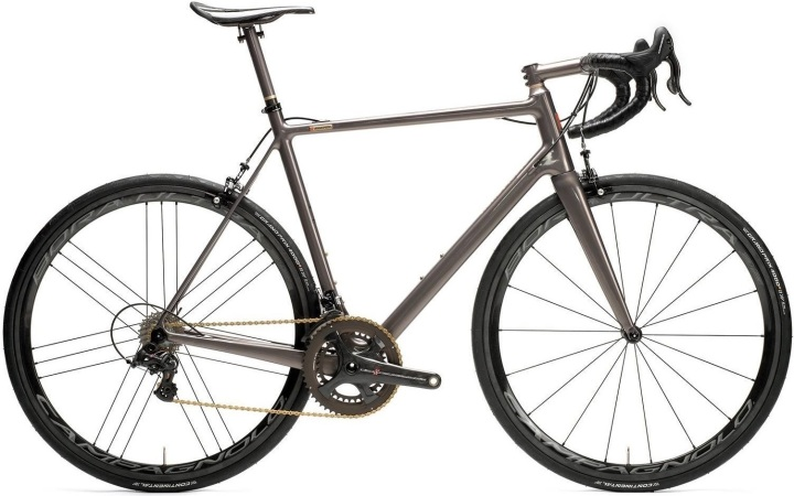 2016 Velocipedo Road Movie grey campy