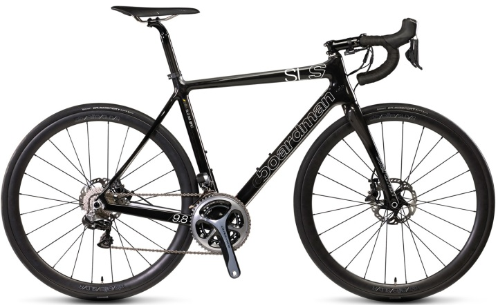 2016 Boardman SLS 9.8 disc dura ace black