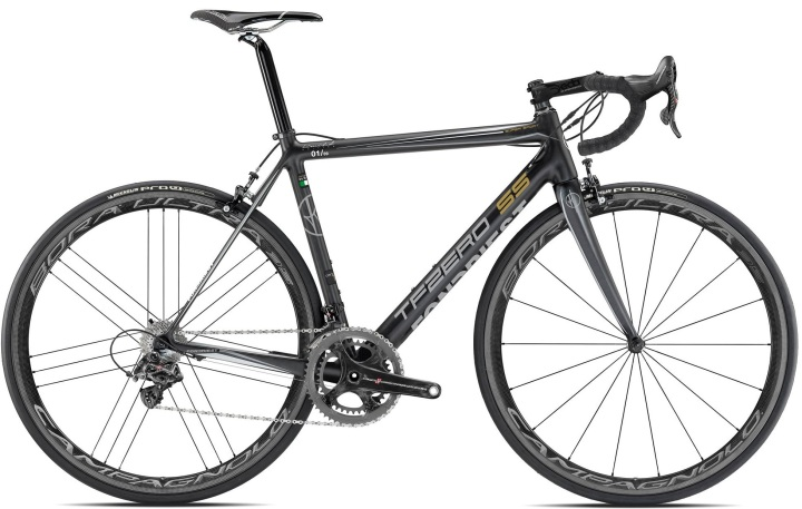 2016 Fondriest TF Zero SS black campy super record