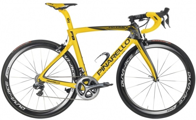 2016 Pinarello Dogma F8 yellow dura ace