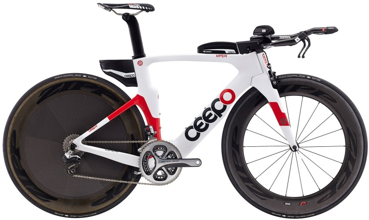2016 Ceepo Viper tt red white dura ace