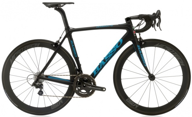 2016 Basso Diamante black light blue campy