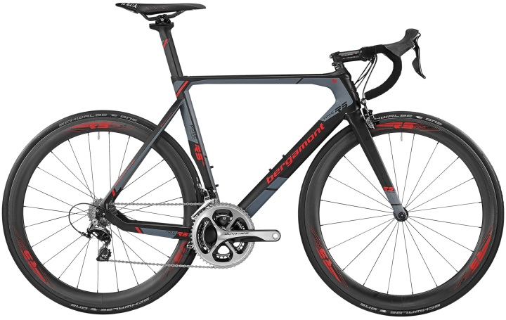 2016 Bergamont Prime RS MGN grey red dura ace
