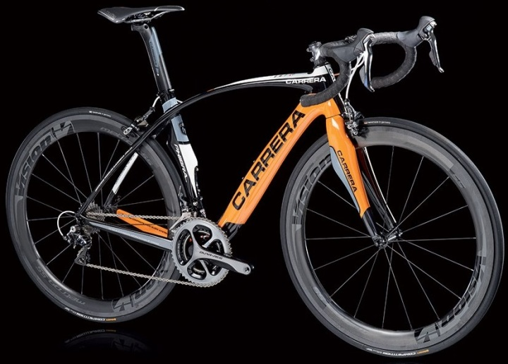 2016 Carrera Phibra orange dura ace
