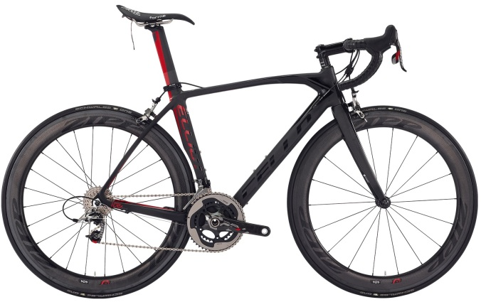 2016 Cello Elliot Team black red sram