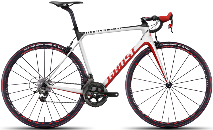 2016 Ghost Nivolet ULC race 4 sram red white black